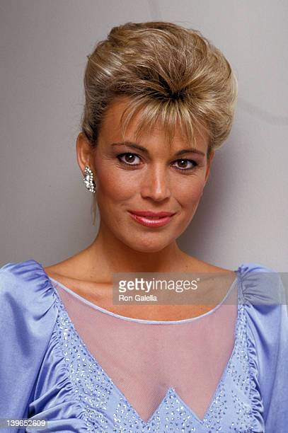 Personality Vanna White attending the taping of 'Bob Hope's Easter Special' on March 15 1987 at NBC Studios in Burbank California