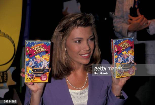 Personality Vanna White attending 'Video Software Dealers Association Convention' on July 11 1993 at the Las Vegas Convention Center in Las Vegas...