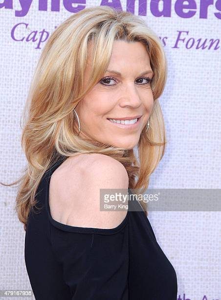 TV personality Vanna White attends the 14th annual Chrysalis Butterfly Ball sponsored by Audi Kayne Anderson Lauren B Beauty and Z Gallerie on June 6...