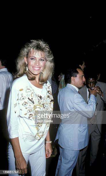 Personality Vanna White being photographed on July 17 1986 at the Palladium in New York City New York