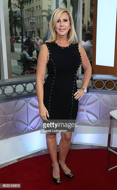 TV personality Vicki Gunvalson visits Hollywood Today Live at W Hollywood on September 12 2016 in Hollywood California