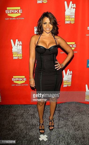 Personality Vida Guerra arrives at Spike TV's 5th Annual Video Game Awards held at Mandalay Bay Events Center on December 7, 2007 in Las Vegas,...