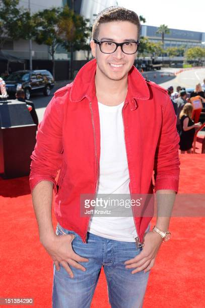 Personality Vinny Guadagnino arrives at the 2012 MTV Video Music Awards at Staples Center on September 6 2012 in Los Angeles California