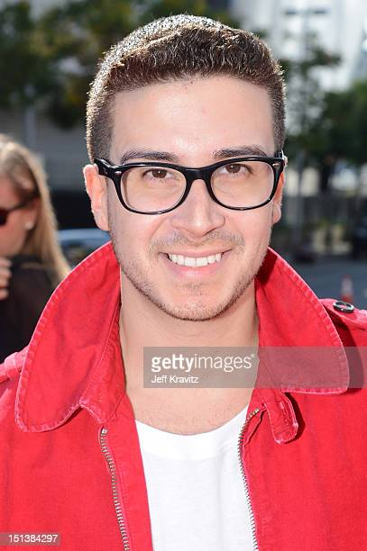 Personality Vinny Guadagnino arrives at the 2012 MTV Video Music Awards at Staples Center on September 6, 2012 in Los Angeles, California.