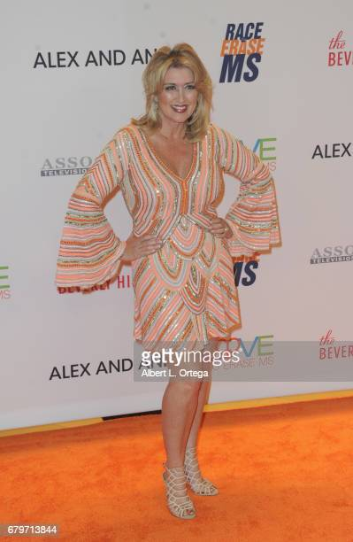 TV personality Wendy Burch arrives for the 24th Annual Race To Erase MS Gala held at The Beverly Hilton Hotel on May 5 2017 in Beverly Hills...