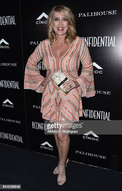 TV personality Wendy Burch attends Los Angeles Confidential Magazine and CIROC UltraPremium Vodka celebrate the Spring Oscars issue with Janelle...
