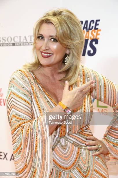 TV personality Wendy Burch attends the 24th Annual Race To Erase MS Gala at The Beverly Hilton Hotel on May 5 2017 in Beverly Hills California