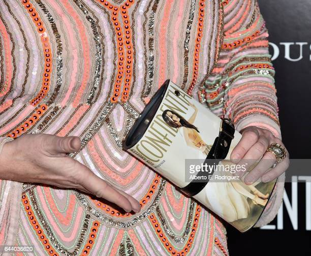 TV personality Wendy Burch purse detail attends Los Angeles Confidential Magazine and CIROC UltraPremium Vodka celebrate the Spring Oscars issue with...