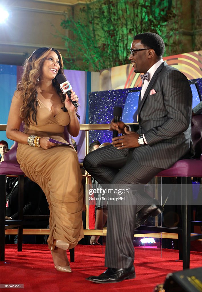TV personality Wendy Williams and rapper Big Daddy Kane attend the Soul Train Awards 2013 at the Orleans Arena on November 8, 2013 in Las Vegas, Nevada.