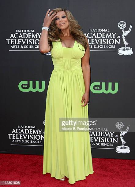 Personality Wendy Williams arrives at the 36th Annual Daytime Emmy Awards at The Orpheum Theatre on August 30, 2009 in Los Angeles, California.