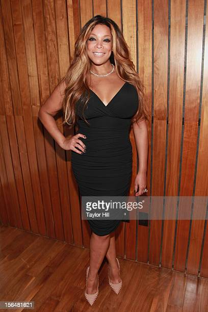 TV personality Wendy Williams attends a PETA Fundraiser to promote her upcoming I'd Rather Go Naked Than Wear Fur advertisement at The Standard Hotel...