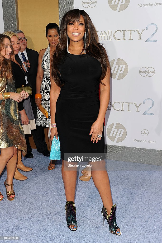 TV Personality Wendy Williams attends the premiere of 'Sex and the City 2' at Radio City Music Hall on May 24, 2010 in New York City.
