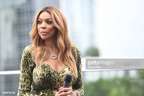 TV personality Wendy Williams attends Wendy Digital Event at Atlanta Tech Village Rooftop on August 29 2017 in Atlanta Georgia