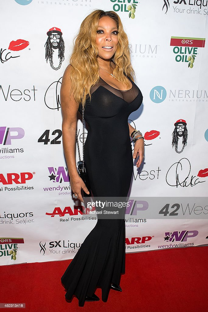 TV personality Wendy Williams attends Wendy Williams' 50th Birthday Party at 42West on July 17, 2014 in New York City.