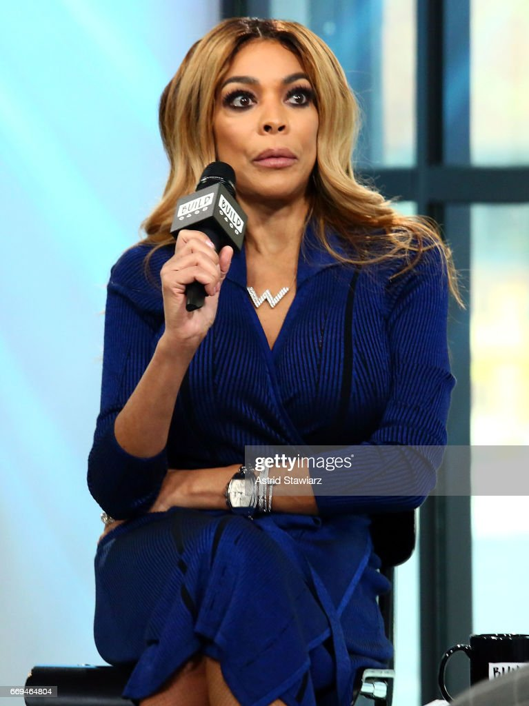 TV personality Wendy Williams discusses her daytime talk show at Build Studio on April 17, 2017 in New York City.