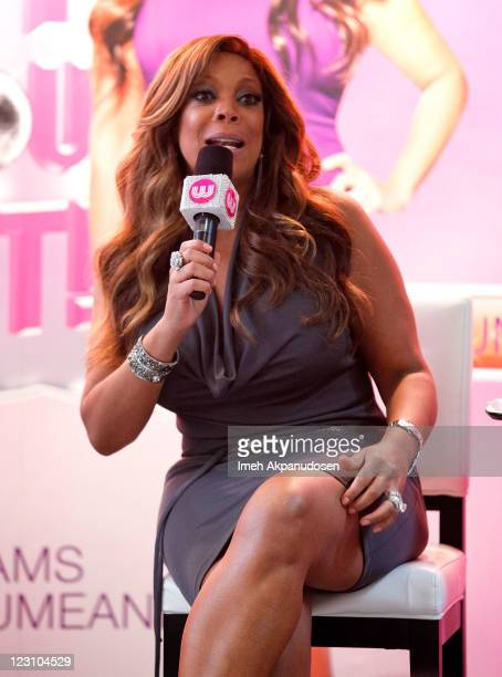 TV personality Wendy Williams hosts The Wendy Williams Show at The Beverly Center on August 30 2011 in Los Angeles California