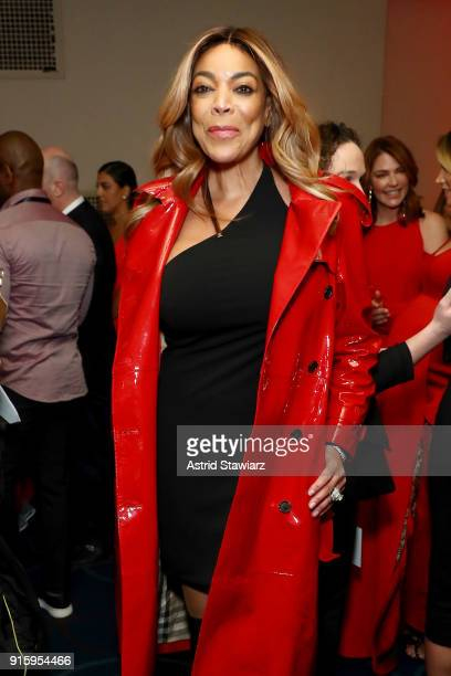 333282165cf TV personality Wendy Williams poses backstage at the American Heart  Association s Go Red For Women Red. 2018 ...