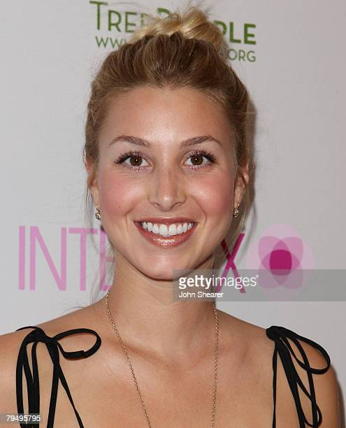TV personality Whitney Port arrives at the opening of the Intermix store on Robertson Boulevard on September 25 2007 in Los Angeles California