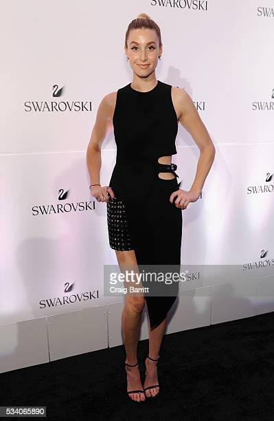 TV personality Whitney Port attends Swarovski #bebrilliant at The Weather Room at the Top of the Rock on May 24 2016 in New York City