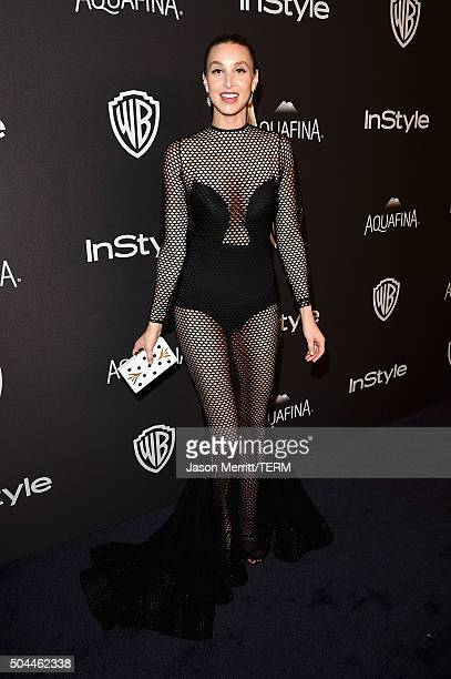 TV personality Whitney Port attends The 2016 InStyle And Warner Bros 73rd Annual Golden Globe Awards PostParty at The Beverly Hilton Hotel on January...