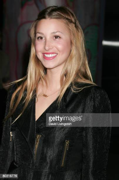 TV personality Whitney Port attends the Prada Los Angeles screening of 'Trembled Blossoms' at Prada Beverly Hills Epicenter on March 19 2008 in...