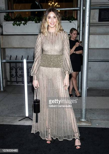 TV personality Whitney Port is seen arriving to Harper's BAZAAR ICONS Party at The Plaza Hotel on September 7 2018 in New York City