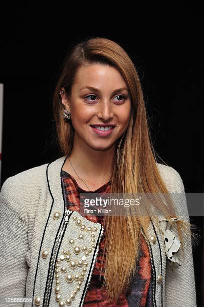 """Personality Whitney Port promotes her new book """"True Whit"""" at Bookends Bookstore on February 2, 2011 in Ridgewood, New Jersey."""