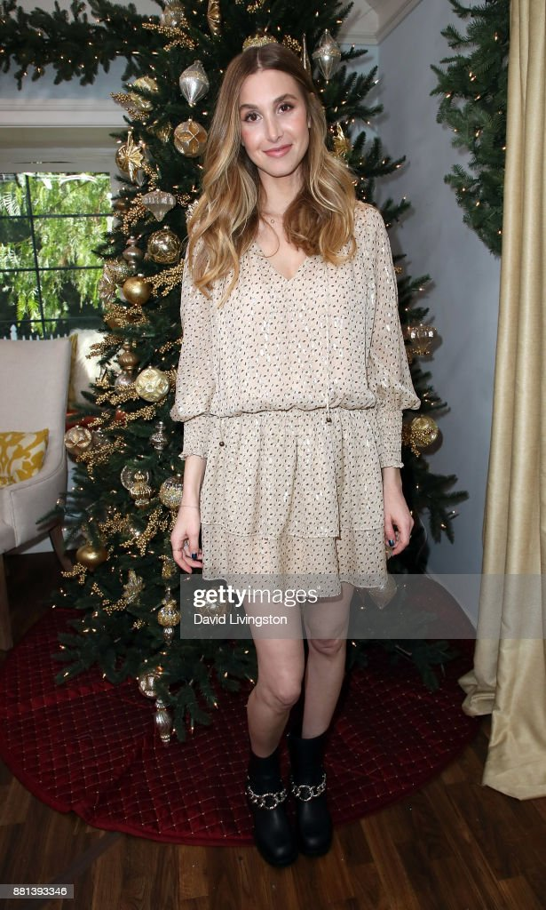 TV personality Whitney Port visits Hallmark's 'Home & Family' at Universal Studios Hollywood on November 28, 2017 in Universal City, California.