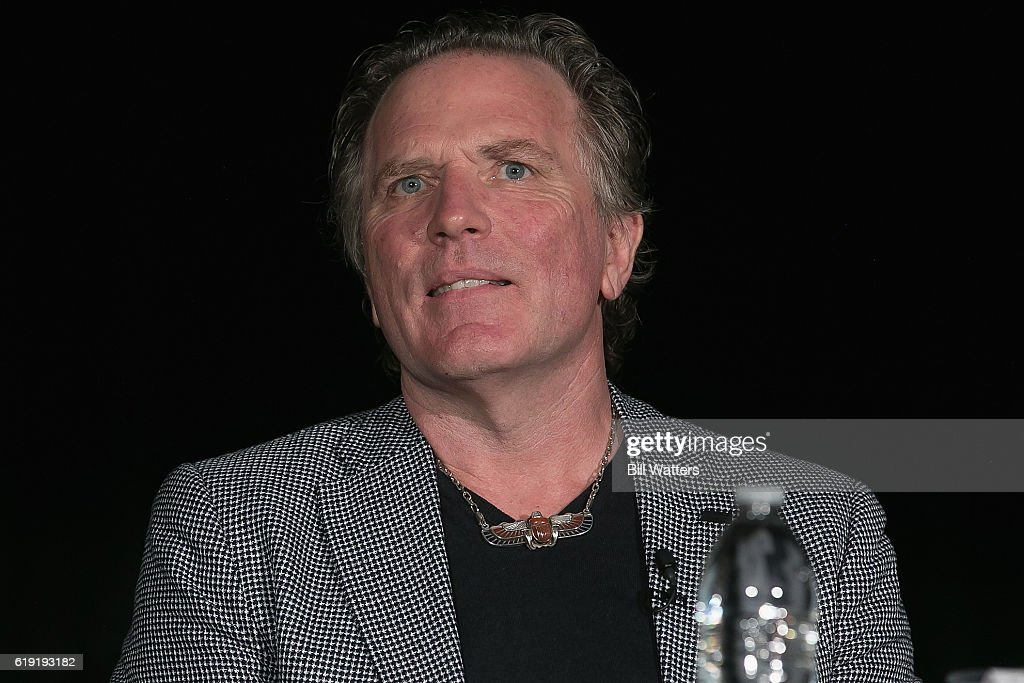 TV personality William Henry speaks at the Ancient Aliens: Alien Technology panel during Alien Con at the Santa Clara Convention Center on October 29, 2016 in Santa Clara, California.