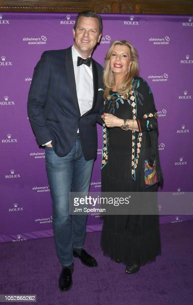 TV personality Willie Geist and Princess Yasmin Aga Khan attend the 35th Annual Alzheimer's Association Rita Hayworth Gala at Cipriani 42nd Street on...