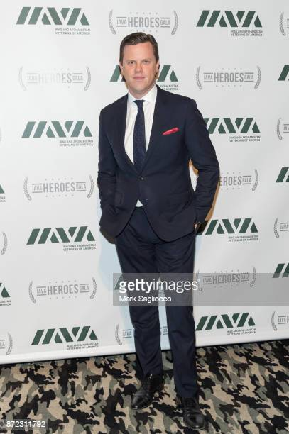 Personality Willie Geist attends the 11th Annual IAVA Heroes Gala at Cipriani 42nd Street on November 9 2017 in New York City