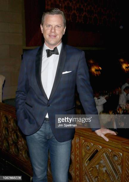 TV personality Willie Geist attends the 35th Annual Alzheimer's Association Rita Hayworth Gala at Cipriani 42nd Street on October 23 2018 in New York...