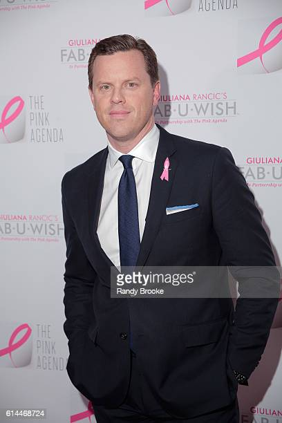 Personality Willie Geist attends The Pink Agenda 2016 Gala arrivals at Three Sixty on October 13 2016 in New York City