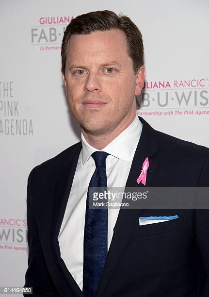 Personality Willie Geist attends The Pink Agenda 2016 Gala at Three Sixty on October 13 2016 in New York City
