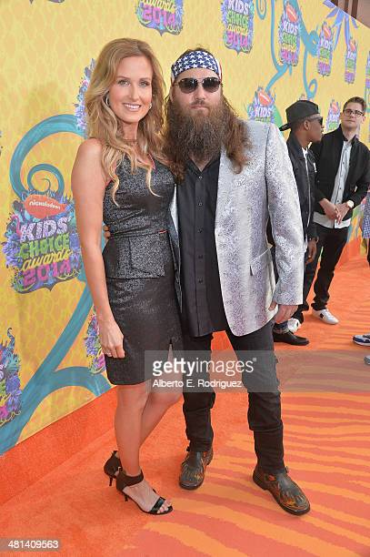 TV personality Willie Robertson and wife Korie Robertson attend Nickelodeon's 27th Annual Kids' Choice Awards held at USC Galen Center on March 29...