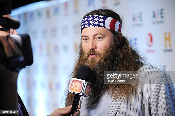Personality Willie Robertson attends the 2014 AE Networks Upfront on May 8 2014 in New York City