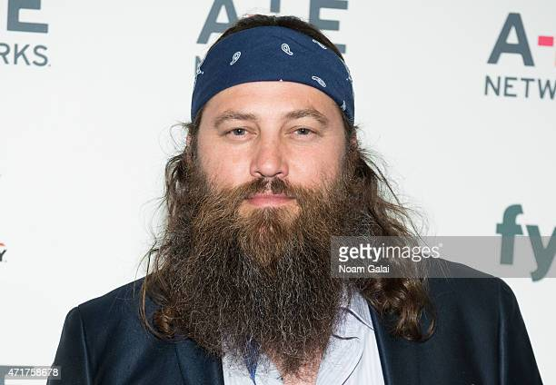 Personality Willie Robertson attends the 2015 A+E Network Upfront at Park Avenue Armory on April 30, 2015 in New York City.