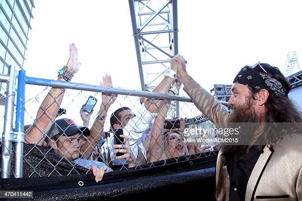 TV personality Willie Robertson attends the 50th Academy of Country Music Awards at ATT Stadium on April 19 2015 in Arlington Texas