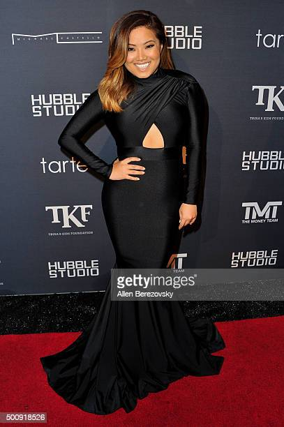 TV personality XiXi Yang attends Trina's Kid's Foundation 2nd annual Runway Wonderland Holiday Charity event benefiting The Boys Girls Clubs of...