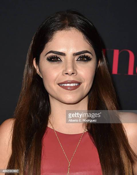 TV personality Yarel Ramos attends LATINA Magazine's Hollywood Hot List party at the Sunset Tower Hotel on October 2 2014 in West Hollywood California