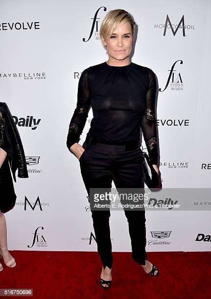 TV personality Yolanda Hadid attends the Daily Front Row 'Fashion Los Angeles Awards' at Sunset Tower Hotel on March 20 2016 in West Hollywood...
