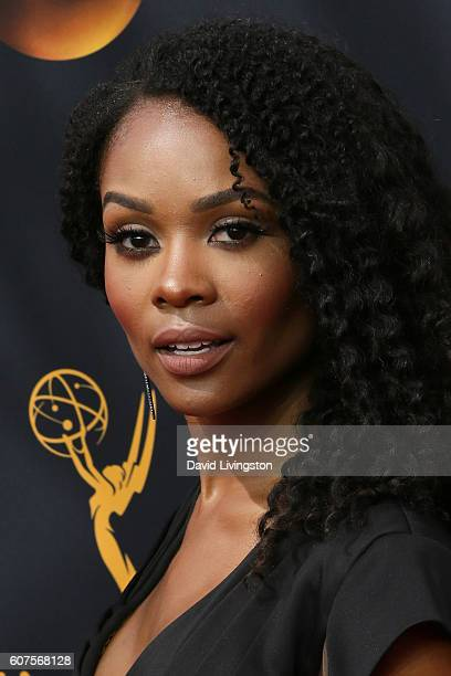 TV personality Zuri Hall arrives at the 68th Annual Primetime Emmy Awards at the Microsoft Theater on September 18 2016 in Los Angeles California