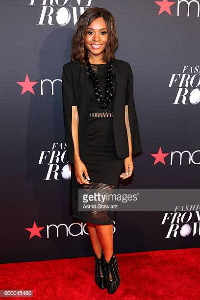 TV personality Zuri Hall attends Macy's Presents Fashion's Front Row on September 7 2016 in New York City