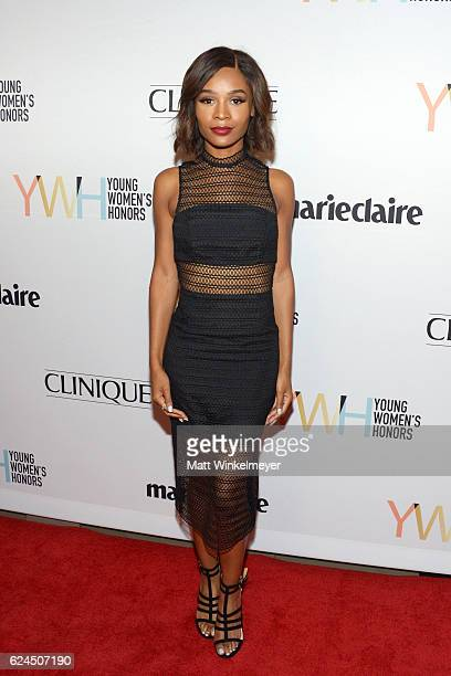 TV personality Zuri Hall attends the 1st annual Marie Claire Young Women's Honors at Marina del Rey Marriott on November 19 2016 in Marina del Rey...