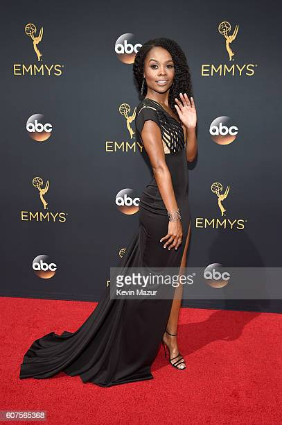TV personality Zuri Hall attends the 68th Annual Primetime Emmy Awards at Microsoft Theater on September 18 2016 in Los Angeles California