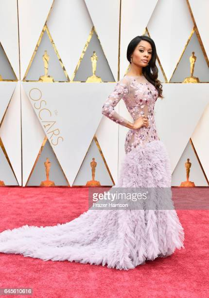 TV personality Zuri Hall attends the 89th Annual Academy Awards at Hollywood Highland Center on February 26 2017 in Hollywood California