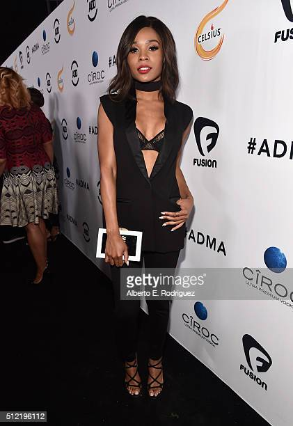 Personality Zuri Hall attends the ALL Def Movie Awards at Lure Nightclub on February 24 2016 in Hollywood California