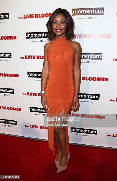 TV personality Zuri Hall attends the premiere of Momentum Pictures' 'The Late Bloomer' at iPic Theaters on October 3 2016 in Los Angeles California
