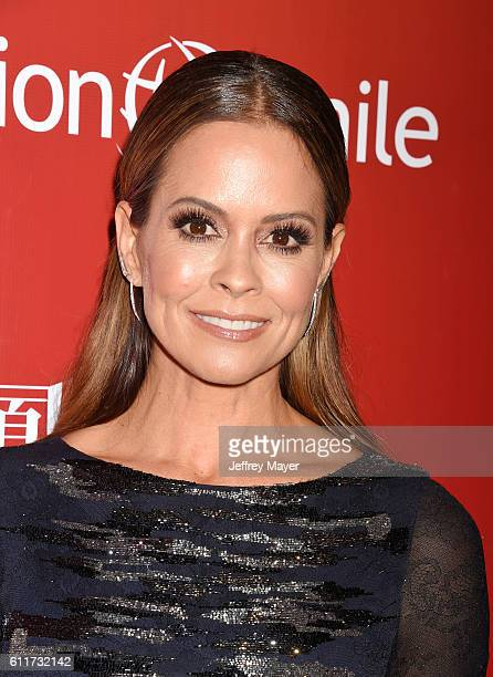 Personality/actress Brooke Burke-Charvet arrives at Operation Smile's Annual Smile Gala at the Beverly Wilshire Four Seasons Hotel on September 30,...
