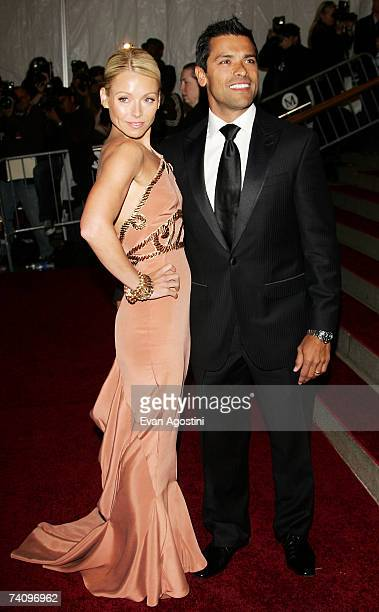 TV personality/actress Kelly Ripa and husband actor Mark Consuelos attend the Metropolitan Museum of Art Costume Institute Benefit Gala Poiret King...